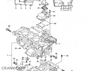 suzuki gsxr600 2006  k6  usa  e03  parts lists and schematics
