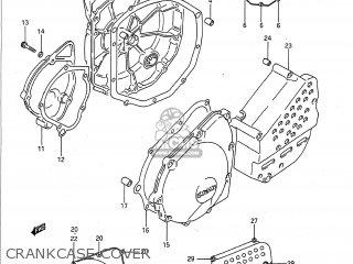 Suzuki GSXR750 1991  M  USA  E03  parts lists and schematics