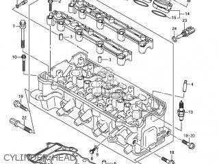 Suzuki GSXR750 2004     K4     USA  E03  parts lists and schematics