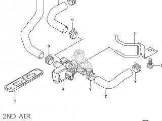 2ND AIR - GSXR750 2014 (L4) USA (E03)