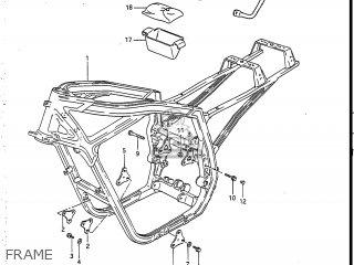 suzuki gsxr750r 1986 g usa e03 parts lists and schematics. Black Bedroom Furniture Sets. Home Design Ideas