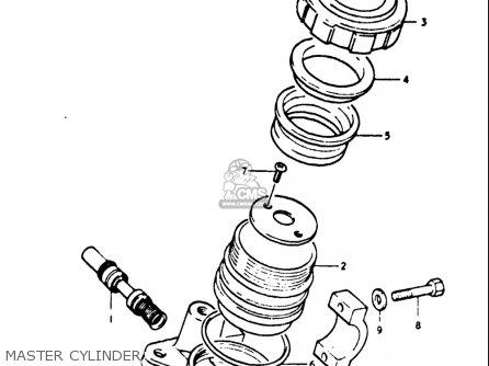 Suzuki Gt500 1976 1977 a b Usa e03 Master Cylinder