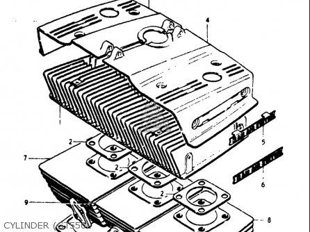 Diagram Of Suzuki Motorcycle Parts 1976 Gt550 Battery Diagram
