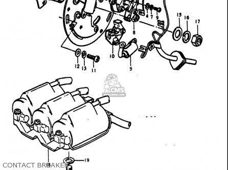 suzuki gt750 1972  usa  parts list partsmanual partsfiche