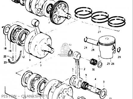 piston - crankshaft