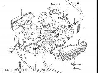 Suzuki Gv1200glf Madura 1985 f Usa e03 Carburetor Fittings