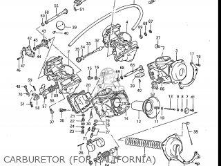 Suzuki Gv1200glf Madura 1985 f Usa e03 Carburetor for California