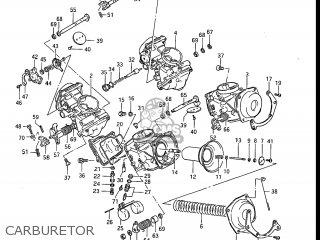 Suzuki Gv1200glf Madura 1985 f Usa e03 Carburetor