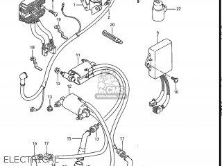 Suzuki Gv1200glf Madura 1985 f Usa e03 Electrical