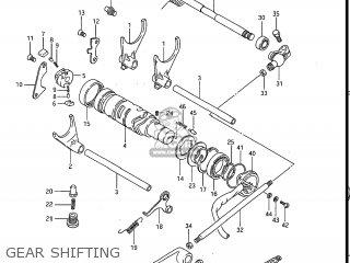 Suzuki Gv1200glf Madura 1985 f Usa e03 Gear Shifting
