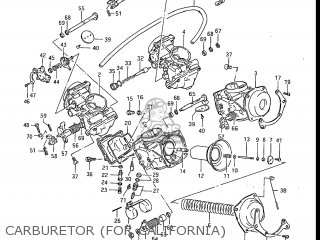 Suzuki Gv1200glf Madura 1985 f Usa e03 Gv1200 Glf Gv1200-glf Carburetor for California