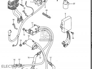 Suzuki Gv1200glf Madura 1985 f Usa e03 Gv1200 Glf Gv1200-glf Electrical