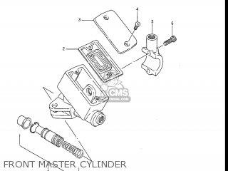 Suzuki Gv1200glf Madura 1985 f Usa e03 Gv1200 Glf Gv1200-glf Front Master Cylinder