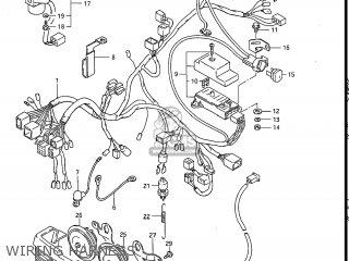Suzuki Gv1200glf Madura 1985 f Usa e03 Gv1200 Glf Gv1200-glf Wiring Harness