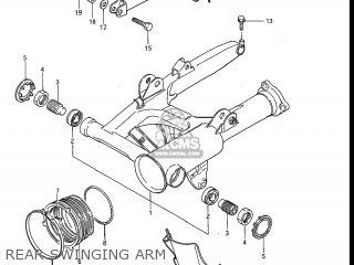 Suzuki Gv1200glf Madura 1985 f Usa e03 Rear Swinging Arm