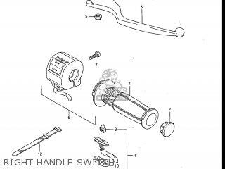 Suzuki Gv1200glf Madura 1985 f Usa e03 Right Handle Switch