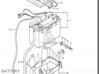 Suzuki Gv1400gc Cavalcade 1986 g Usa e03 Battery