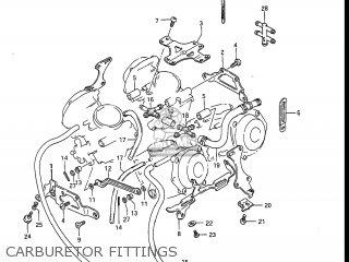 Suzuki Gv1400gc Cavalcade 1986 g Usa e03 Carburetor Fittings