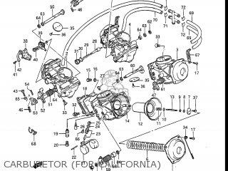 Suzuki Gv1400gc Cavalcade 1986 g Usa e03 Carburetor for California