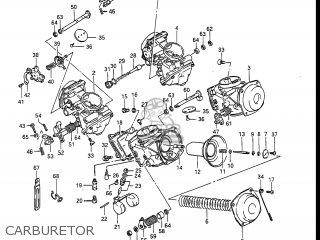 Suzuki Gv1400gc Cavalcade 1986 g Usa e03 Carburetor