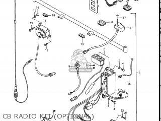 Suzuki Gv1400gc Cavalcade 1986 g Usa e03 Cb Radio Kit optional