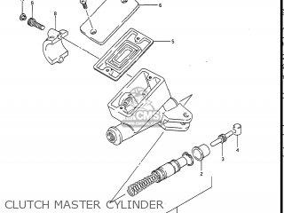 Suzuki Gv1400gc Cavalcade 1986 g Usa e03 Clutch Master Cylinder
