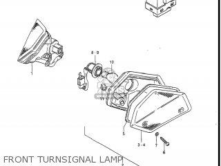 Suzuki Gv1400gc Cavalcade 1986 g Usa e03 Front Turnsignal Lamp