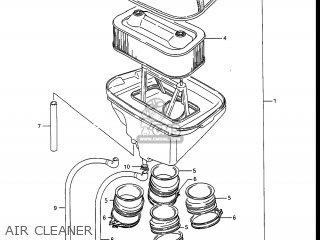 Suzuki Gv1400gc Cavalcade 1986 g Usa e03 Gv1400 Gc Gc1400-gc Air Cleaner