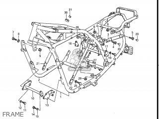Suzuki Gv1400gc Cavalcade 1986 g Usa e03 Gv1400 Gc Gc1400-gc Frame