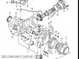Suzuki Gv1400gc Cavalcade 1986 g Usa e03 Gv1400 Gc Gc1400-gc Secondary Drive Gear