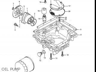 Suzuki Gv1400gc Cavalcade 1986 g Usa e03 Oil Pump