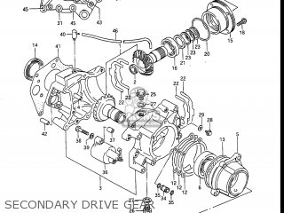 Suzuki Gv1400gc Cavalcade 1986 g Usa e03 Secondary Drive Gear