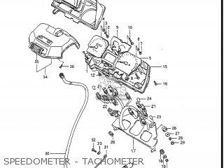 Suzuki Gv1400gc Cavalcade 1986 g Usa e03 Speedometer - Tachometer