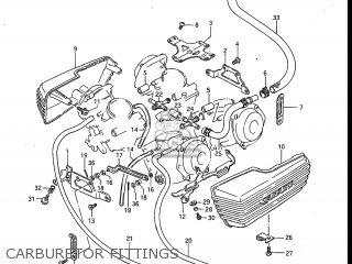 Suzuki Gv700glf Madura 1985 f Usa e03 Carburetor Fittings