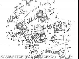 Suzuki Gv700glf Madura 1985 f Usa e03 Carburetor for California