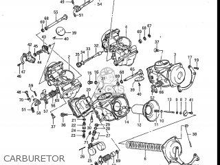 Suzuki Gv700glf Madura 1985 f Usa e03 Carburetor