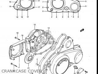 Suzuki Gv700glf Madura 1985 f Usa e03 Crankcase Cover