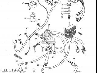 Suzuki Gv700glf Madura 1985 f Usa e03 Electrical
