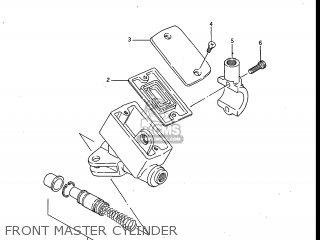 Suzuki Gv700glf Madura 1985 f Usa e03 Front Master Cylinder