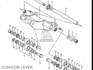 Suzuki Gv700glf Madura 1985 f Usa e03 Gv700 Glf Gv700-glf Cushion Lever