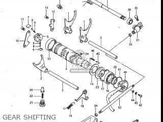 Suzuki Gv700glf Madura 1985 f Usa e03 Gv700 Glf Gv700-glf Gear Shifting