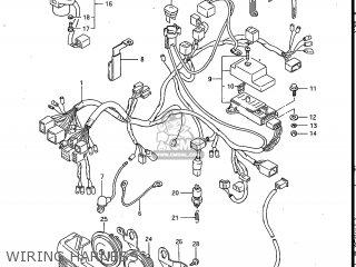 Suzuki Gv700glf Madura 1985 f Usa e03 Gv700 Glf Gv700-glf Wiring Harness