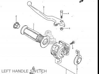 Suzuki Gv700glf Madura 1985 f Usa e03 Left Handle Switch