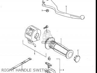 Suzuki Gv700glf Madura 1985 f Usa e03 Right Handle Switch