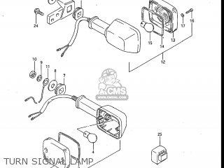 Suzuki Gv700glf Madura 1985 f Usa e03 Turn Signal Lamp