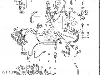 Suzuki Gv700glf Madura 1985 f Usa e03 Wiring Harness