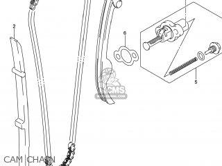 Suzuki Gw250 Inazuma 2014 l4 Usa e03 Cam Chain
