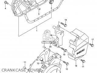 Suzuki Gw250 Inazuma 2014 l4 Usa e03 Crankcase Cover
