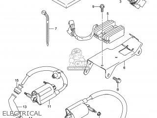 Suzuki Gw250 Inazuma 2014 l4 Usa e03 Electrical