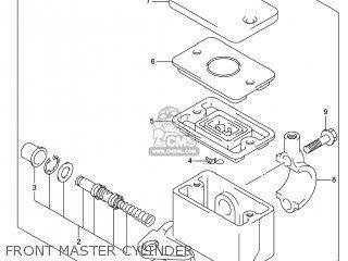 Suzuki Gw250 Inazuma 2014 l4 Usa e03 Front Master Cylinder